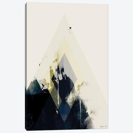 Beneath the Surface II Canvas Print #GLI16} by Green Lili Canvas Wall Art