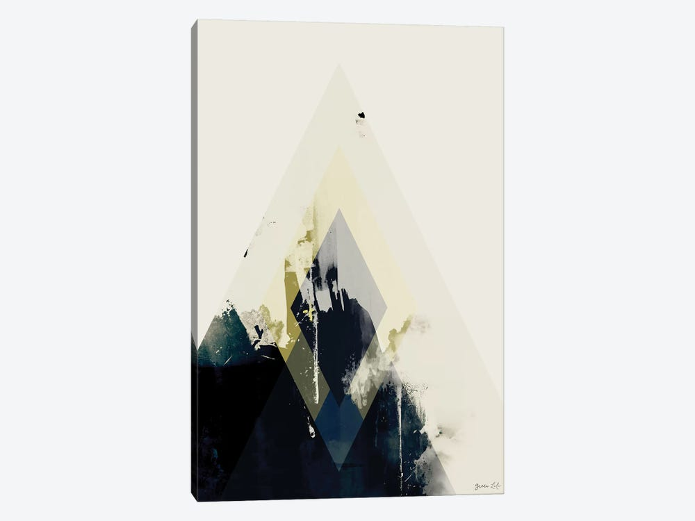 Beneath the Surface II by Green Lili 1-piece Canvas Art Print