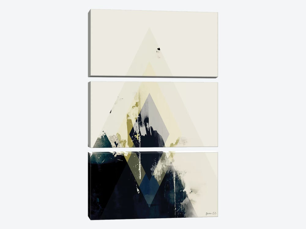 Beneath the Surface II by Green Lili 3-piece Canvas Art Print
