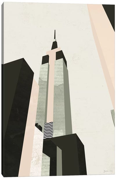 Graphic New York I Canvas Art Print