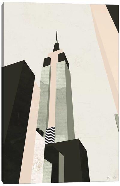 Graphic New York I Canvas Art Print