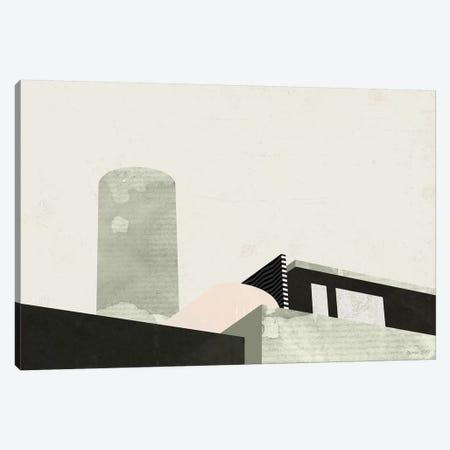 Graphic New York II Canvas Print #GLI23} by Green Lili Canvas Art