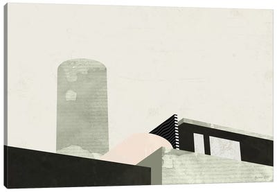 Graphic New York II Canvas Art Print