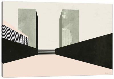 Graphic New York III Canvas Art Print