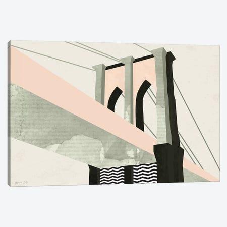 Graphic New York IV Canvas Print #GLI25} by Green Lili Canvas Print