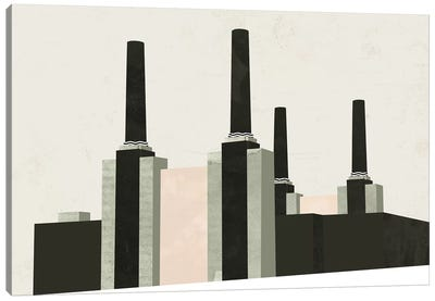 Graphic New York V Canvas Art Print