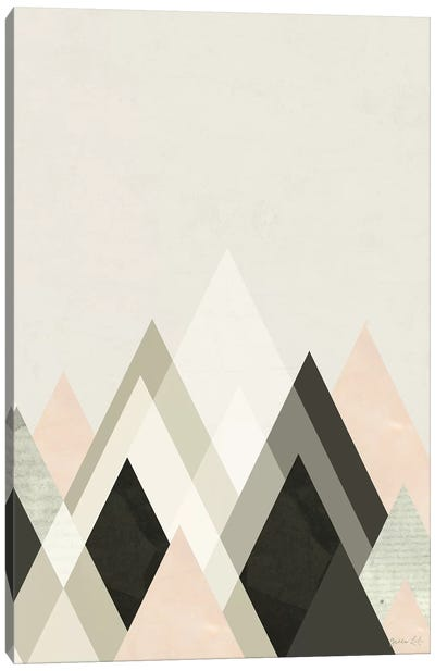 Mountains Beyond Mountains III Canvas Art Print