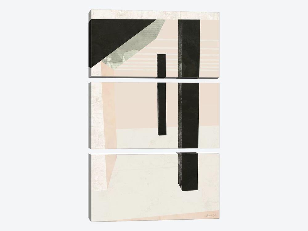Outside In II by Green Lili 3-piece Canvas Art Print