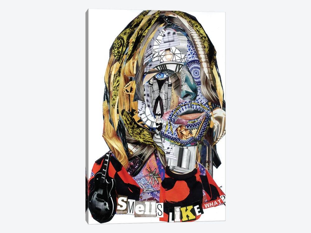 Cobain II by Glil 1-piece Canvas Wall Art