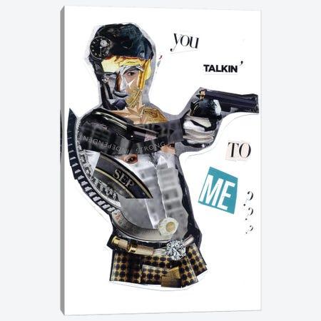 De Niro Canvas Print #GLL13} by Glil Canvas Wall Art