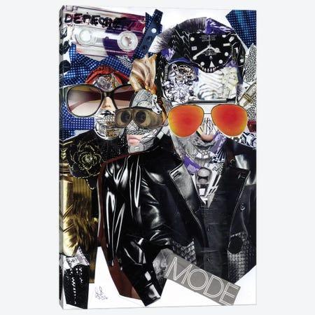Depeche Canvas Print #GLL14} by Glil Canvas Print
