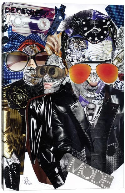 Depeche Canvas Art Print