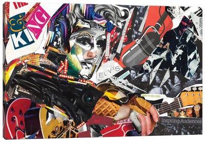 Elvis Canvas Art Print