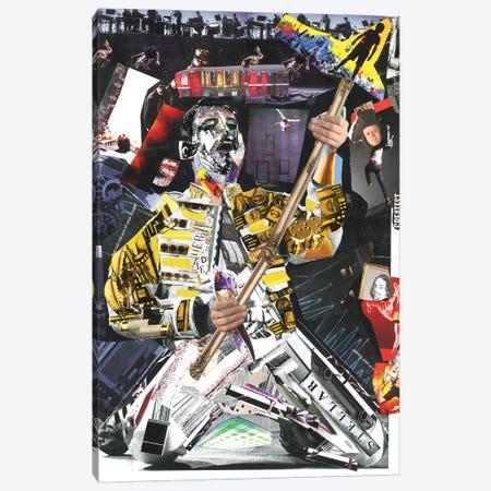 Freddie I Canvas Print #GLL18} by Glil Canvas Wall Art