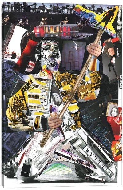 Freddie I Canvas Art Print