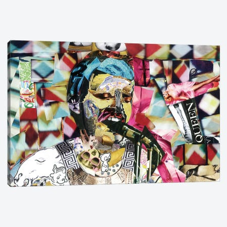 Freddie II Canvas Print #GLL19} by Glil Canvas Artwork