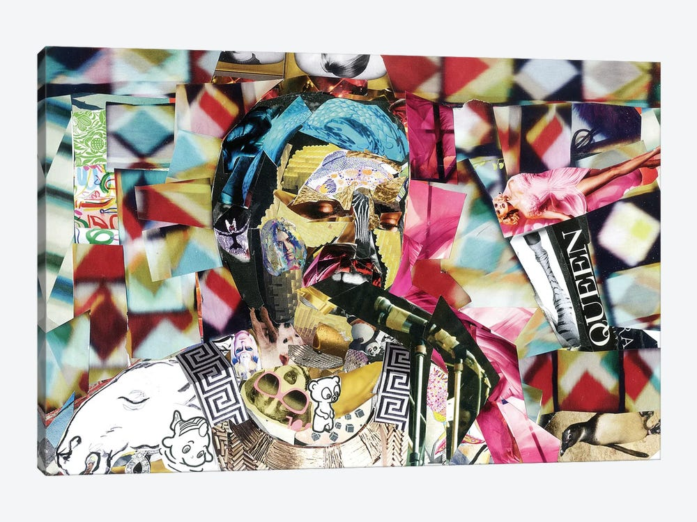 Freddie II by Glil 1-piece Canvas Artwork