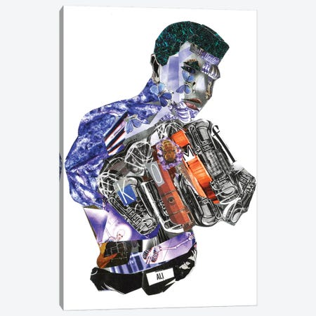 Ali Canvas Print #GLL1} by Glil Canvas Artwork