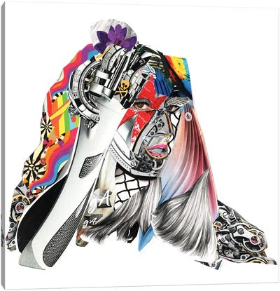 Gaga Canvas Art Print