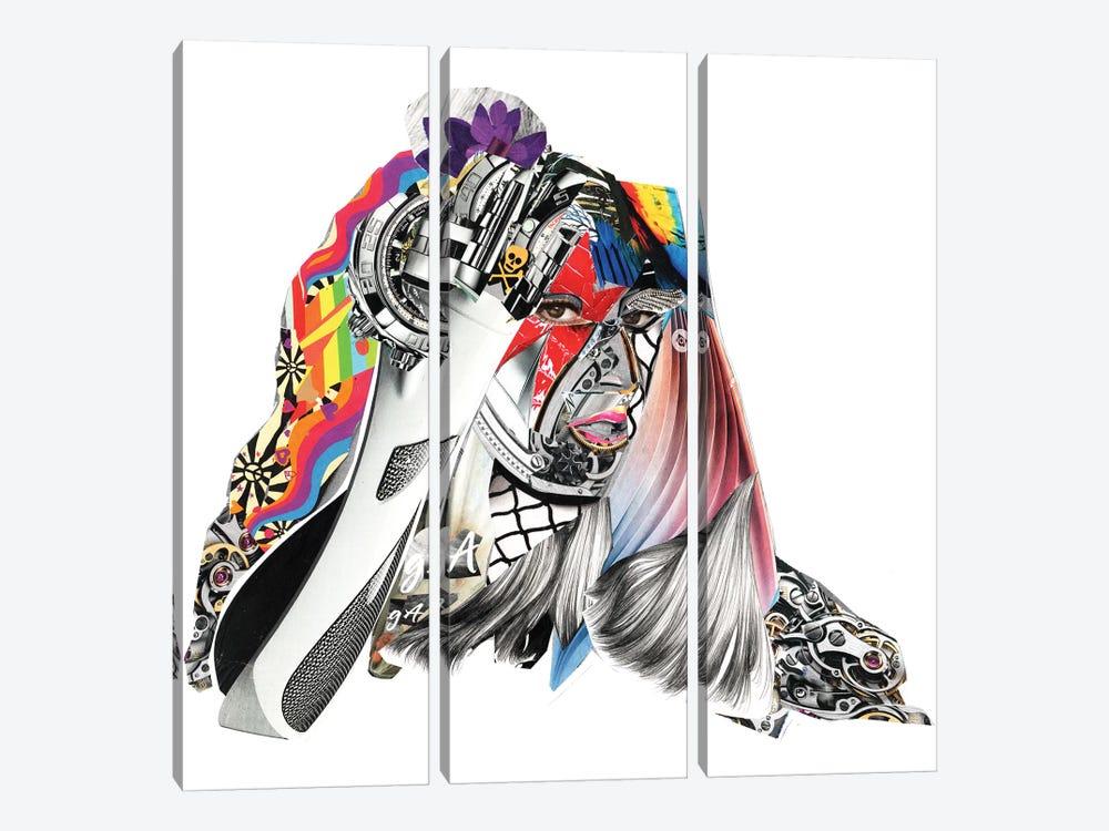 Gaga by Glil 3-piece Canvas Wall Art