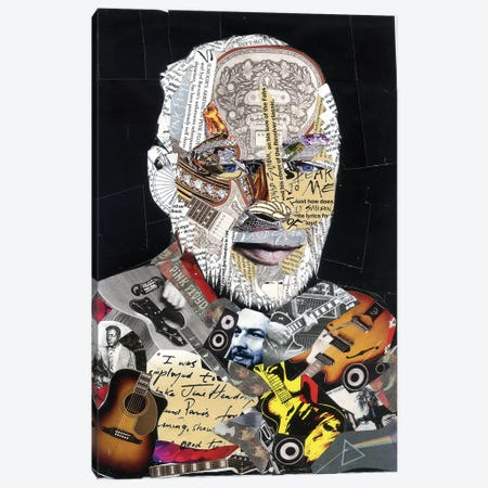 Gilmour Canvas Print #GLL21} by Glil Canvas Art Print