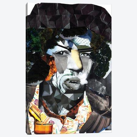 Hendrix II Canvas Print #GLL23} by Glil Art Print