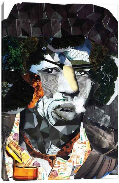 Hendrix II Canvas Art Print