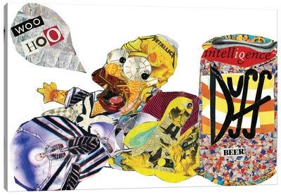 Homer Simpson Canvas Art Print