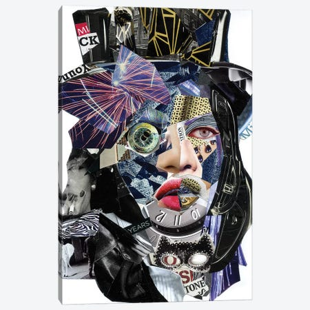 Jagger II Canvas Print #GLL27} by Glil Canvas Artwork