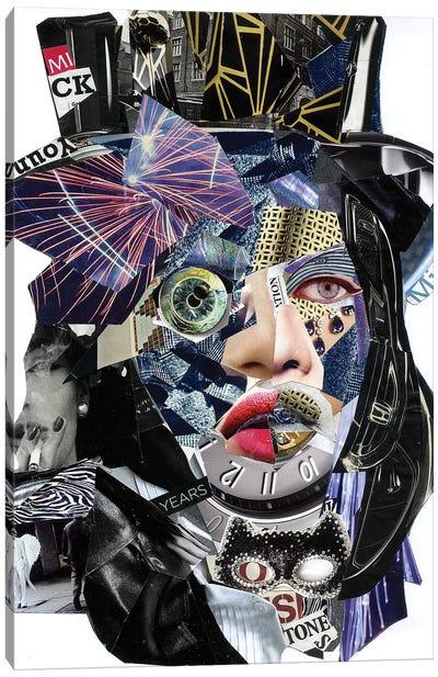 Jagger II Canvas Art Print