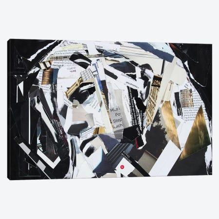 Kurt Cobain Canvas Print #GLL30} by Glil Canvas Artwork
