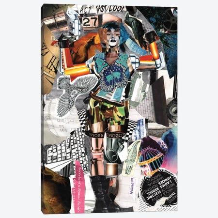 Lara Canvas Print #GLL31} by Glil Canvas Artwork
