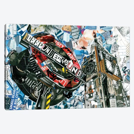 London III Canvas Print #GLL33} by Glil Canvas Wall Art