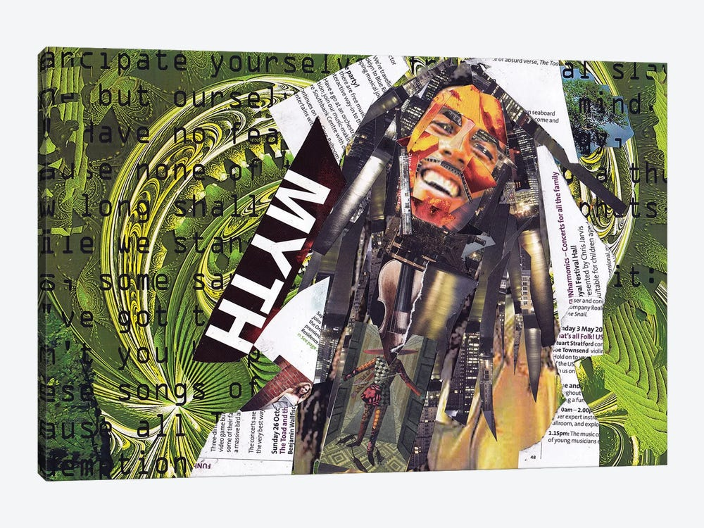 Marley I by Glil 1-piece Canvas Art Print