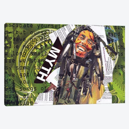 Marley I Canvas Print #GLL36} by Glil Canvas Art Print