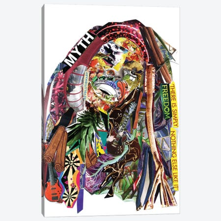 Marley II Canvas Print #GLL37} by Glil Canvas Print