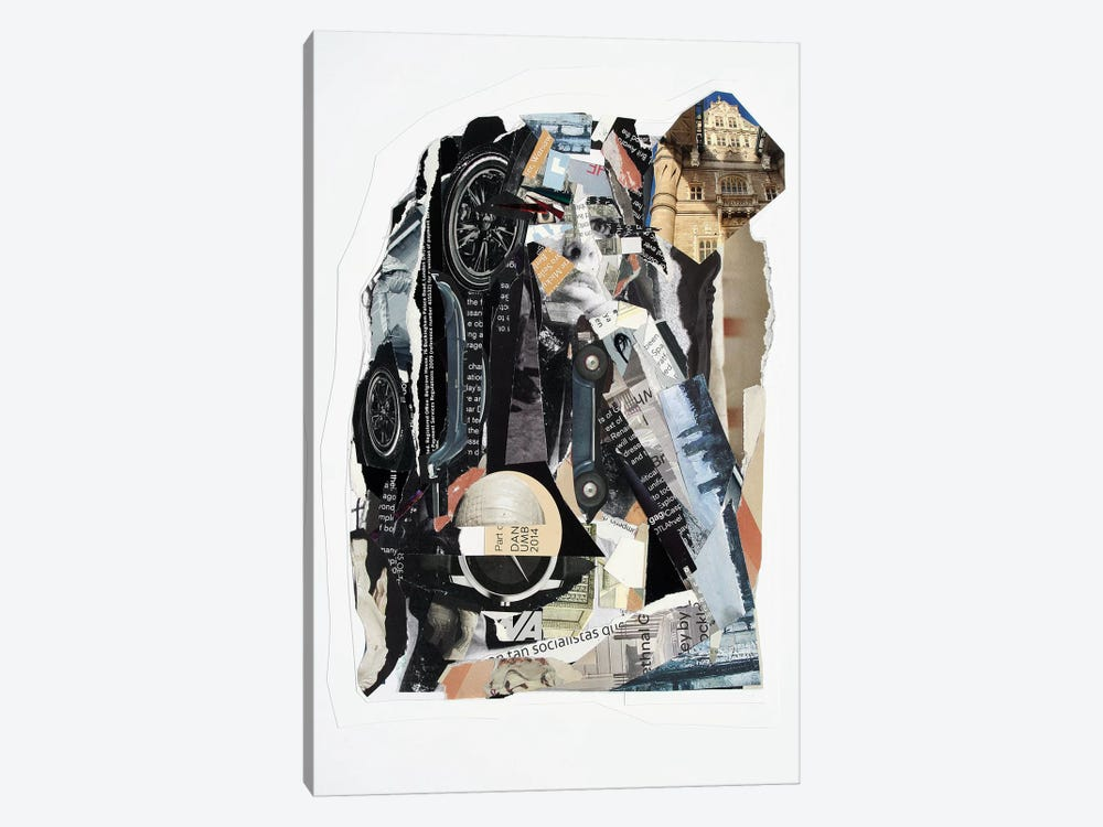 Amy II by Glil 1-piece Canvas Artwork