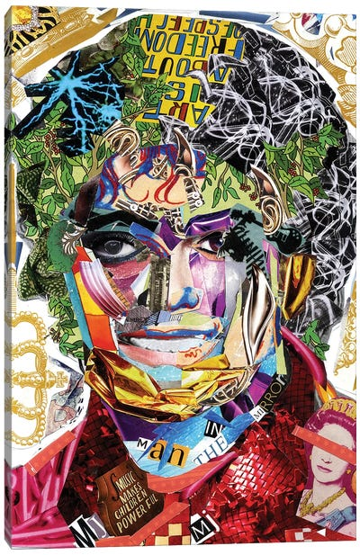 Michael Jackson III Canvas Art Print