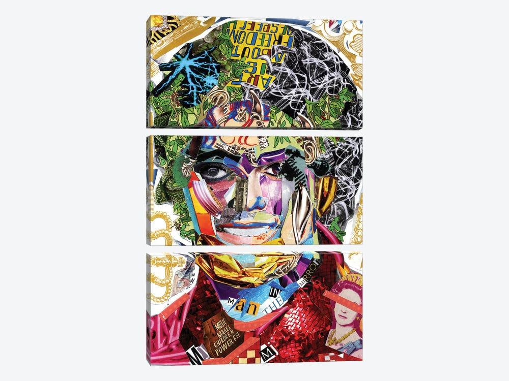 Michael Jackson III by Glil 3-piece Canvas Art