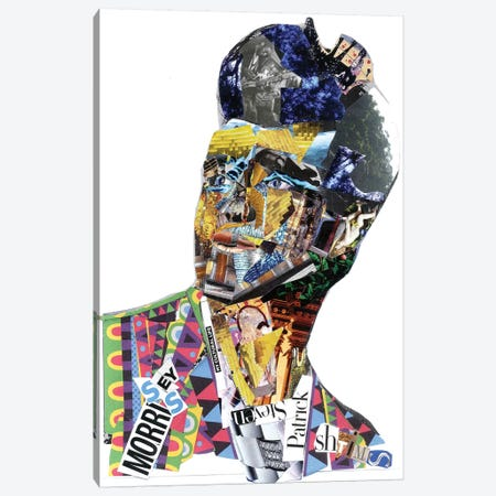 Morrissey Canvas Print #GLL43} by Glil Canvas Print