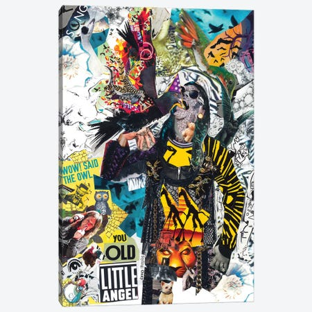Ozzy Canvas Print #GLL45} by Glil Canvas Art
