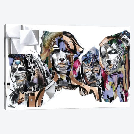 Pink Floyd Canvas Print #GLL46} by Glil Canvas Wall Art