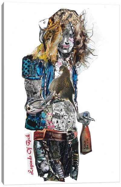 Robert Plant Canvas Art Print