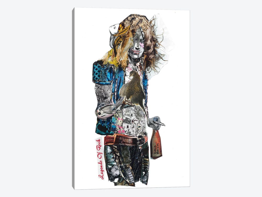 Robert Plant by GLIL 1-piece Art Print