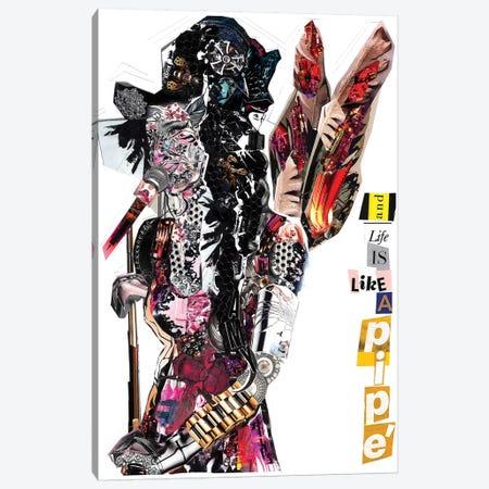 Amy III 3-Piece Canvas #GLL4} by Glil Canvas Art Print
