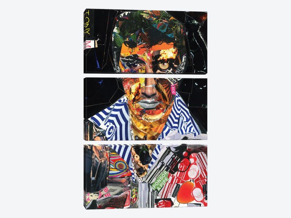 Scarface by Glil 3-piece Canvas Print