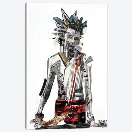 Sid Vicious Canvas Print #GLL52} by Glil Canvas Art
