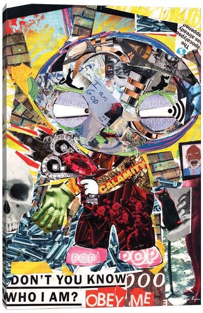 Stewie Canvas Art Print