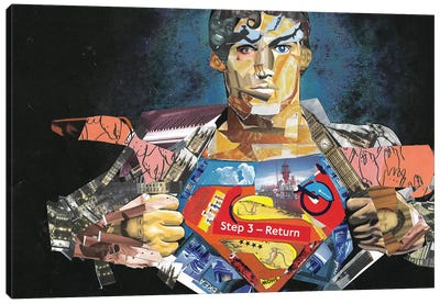 Superman I Canvas Art Print