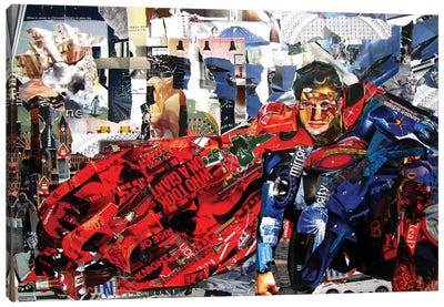 Superman II Canvas Art Print